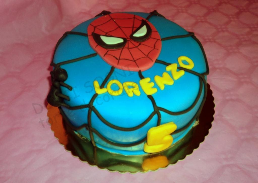 pin torta spiderman l uomo ragno foto torna al blog torte pelautscom cake on pinterest. Black Bedroom Furniture Sets. Home Design Ideas