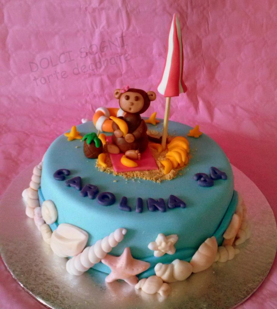 Torta scimmietta al bagno dolci sogni - Bagno per torte senza liquore ...