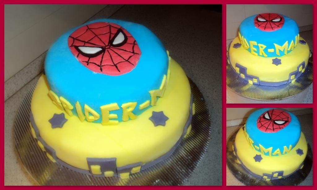 Torta spiderman dolci sogni for Decorazione torte spiderman